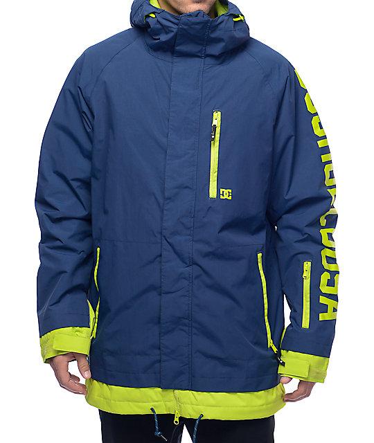 4e955e215073 DC Ripley 10K Navy Snowboard Jacket | Zumiez