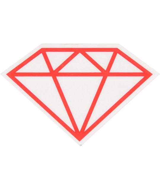 fdfdff67e9a8 Diamond Supply Co Rock Vinyl Sticker   Zumiez