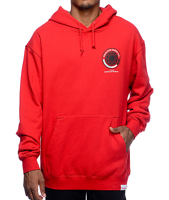 1d3b60b7 Diamond Supply Co. World's Best Red Pullover Hoodie | Zumiez