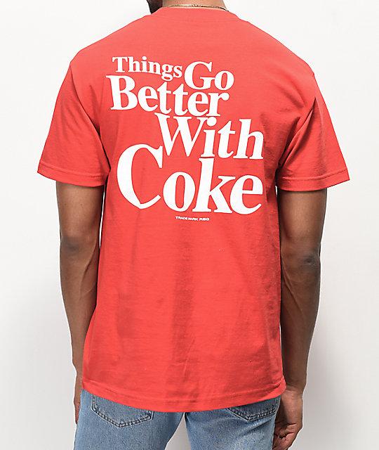 5541bc40ec Diamond Supply Co. x Coca-Cola OG Sign Red T-Shirt