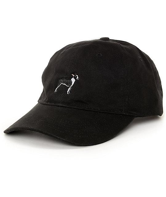 7f1c7220f9749 Dog Limited Boston Terrier Black Dad Hat | Zumiez
