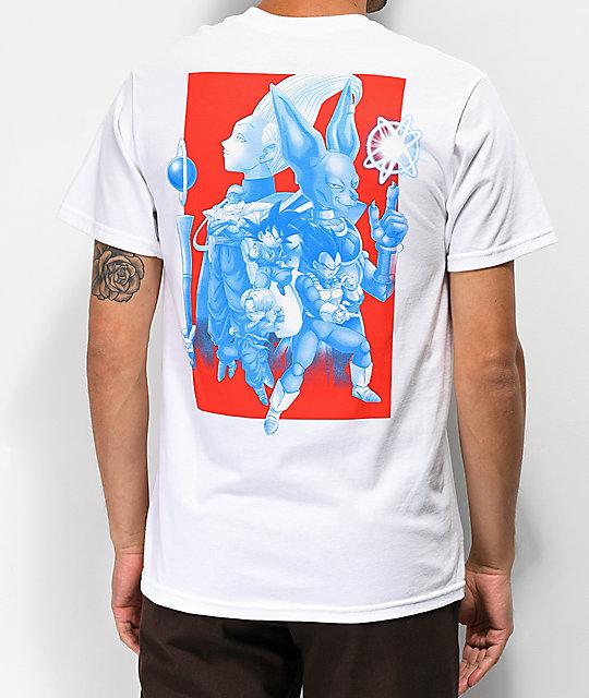 3a7fbf0c3 Dragon Ball Super Squad White T-Shirt | Zumiez