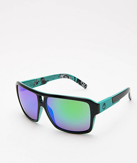 Ion Gafas En Verde Y Jam The Sol Jet De Dragon Azulado byIvY6gmf7
