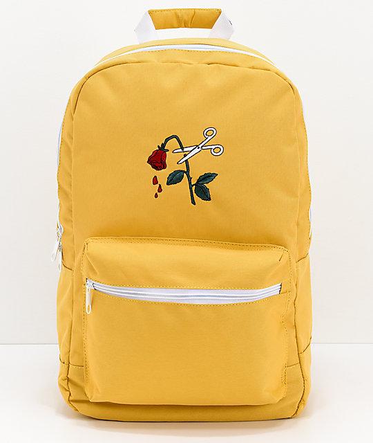 Empyre Brenda Cut Off Yellow Backpack | Zumiez