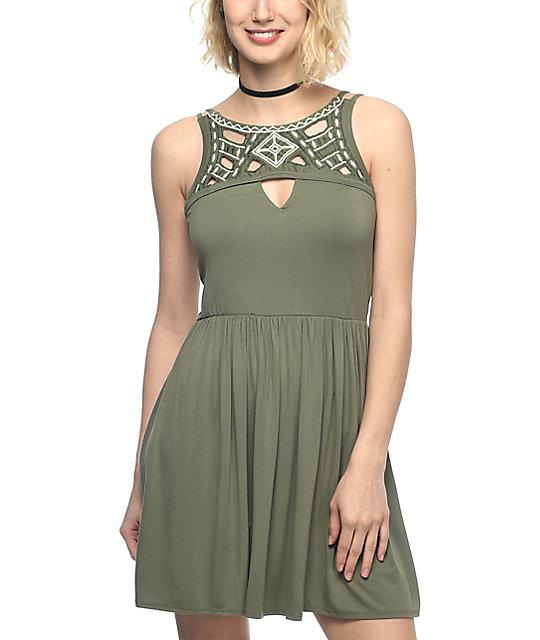 Vestido En Color Verde Br379841b Breakfreewebcom