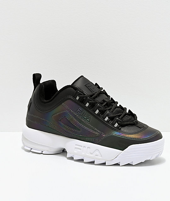Zapatos Shift Disruptor Fila Ii Negros Phase BeodCxr
