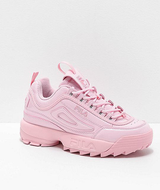 85b2c8212 FILA Disruptor II Premium Light Pink Shoes | Zumiez