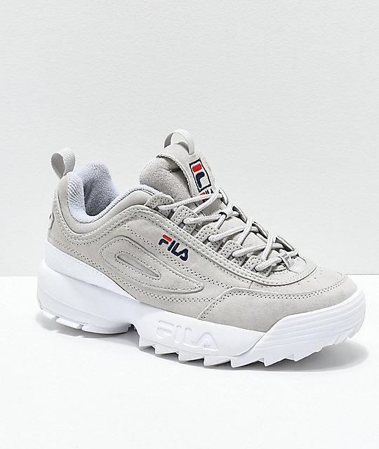 Gris Disruptor De Ante Premium Zapatos Ii Fila sQxBhCrtd