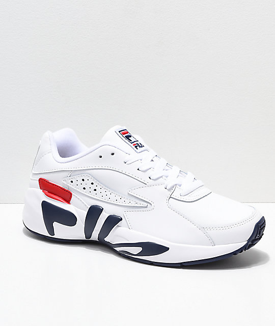 Navy Chaussures Fila Mindblower Fila white 354LAjR