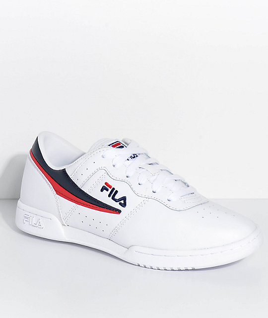FILA Original Fitness White Shoes  494747ebf