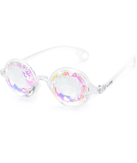 aff8817cfa61f GloFX Kaleidoscope Crystal Rainbow Clear Glasses