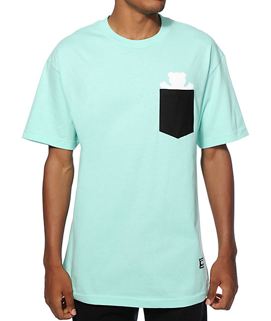 7fc329489f Grizzly Bear Contrast Pocket T-Shirt
