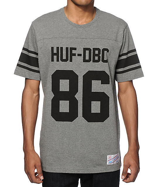 new concept 85f86 f66d4 HUF Wrecking Crew Football Jersey T-Shirt