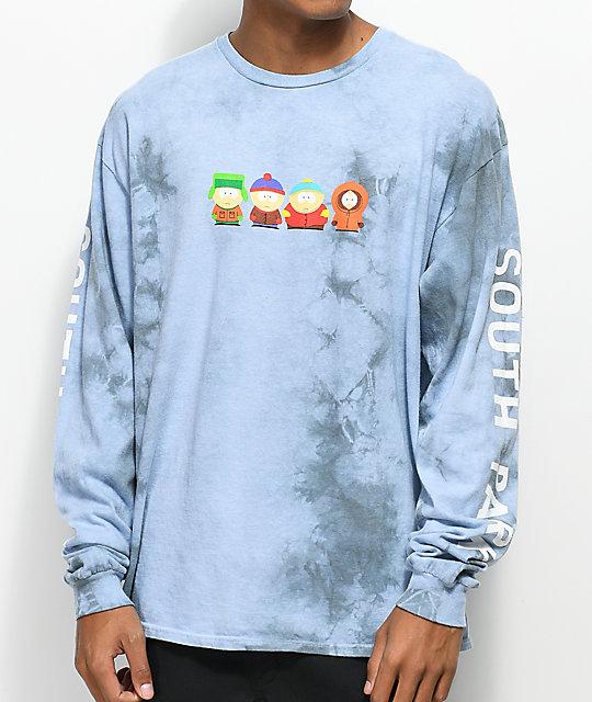 72fda4ebe8b83 HUF x South Park Cast Crystal Wash Long Sleeve T-Shirt