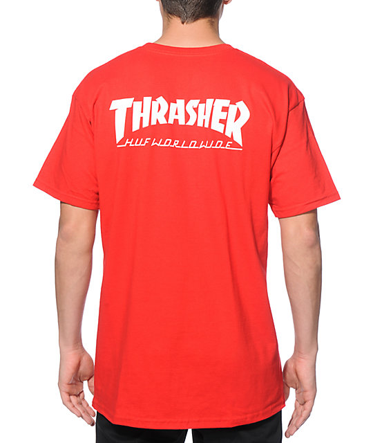 c15ae8a86f2d HUF x Thrasher Classic H T-Shirt | Zumiez