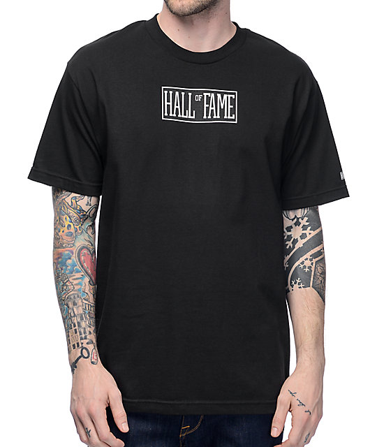 f5342fb10 Hall Of Fame Logo Black T-Shirt | Zumiez