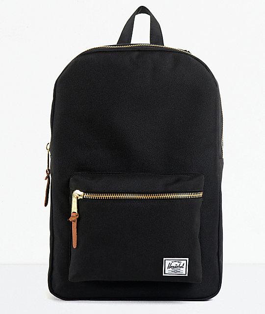 e98f1887d7d9a3 Herschel Supply Co. Black Settlement Backpack | Zumiez