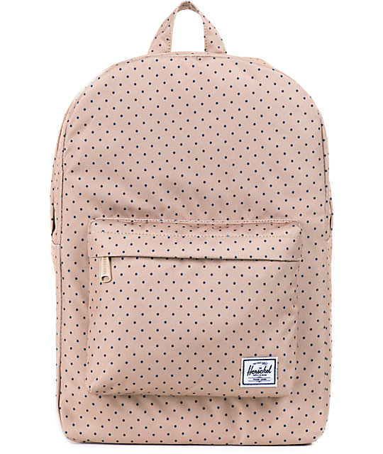 38b657f672d Herschel Supply Co. Classic Khaki Polka Dot 11L Mid Volume Backpack | Zumiez