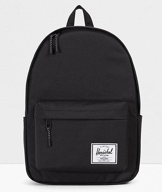 650f19bcbe2e0e Herschel Supply Co. Classic XL Black Backpack | Zumiez