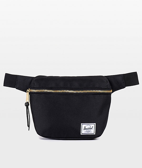 7e3bd9480685 Herschel Supply Co. Fifteen Black 1.25L Fanny Pack
