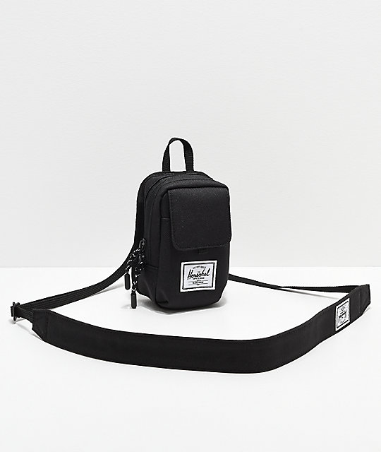 0616a9e47e80 Herschel Supply Co. Form Small Black Shoulder Bag | Zumiez