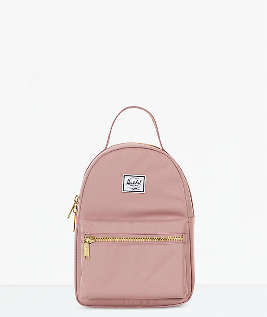 Herschel Supply Co. Nova Ash Rose Mini Backpack  345d28bb8edfc
