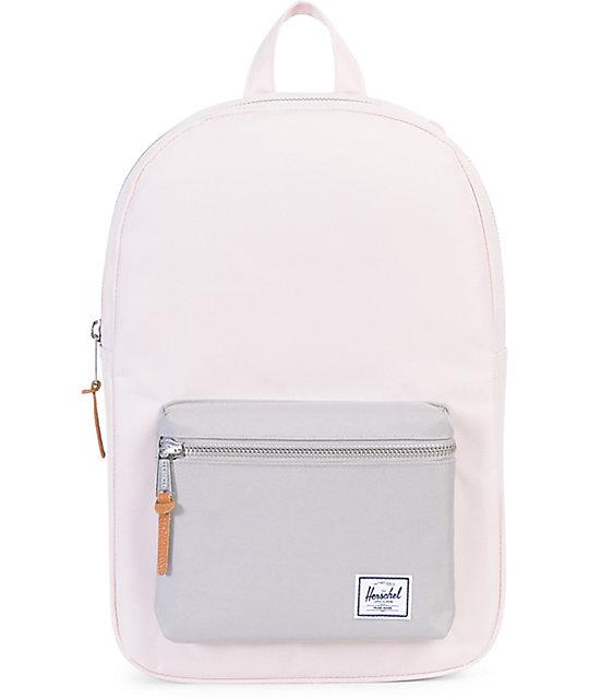 75ba51283f8b Herschel Supply Co. Settlement Mid Cloud Pink   Grey 17L Backpack ...