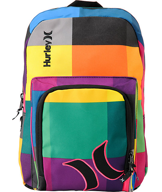 464ffaeff Hurley Sync Colorful Laptop Backpack | Zumiez
