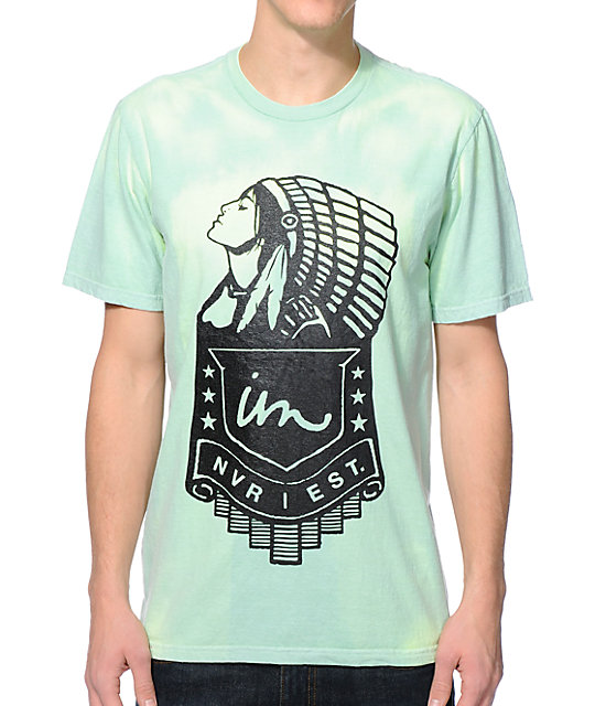 Color Changing Shirts >> Imperial Motion Chief Green Yellow Color Change T Shirt Zumiez