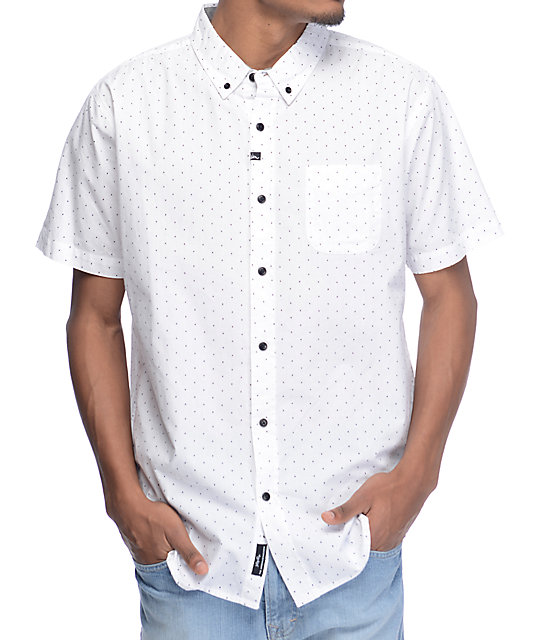Imperial Motion Winston White Short Sleeve Button Up Shirt Zumiez