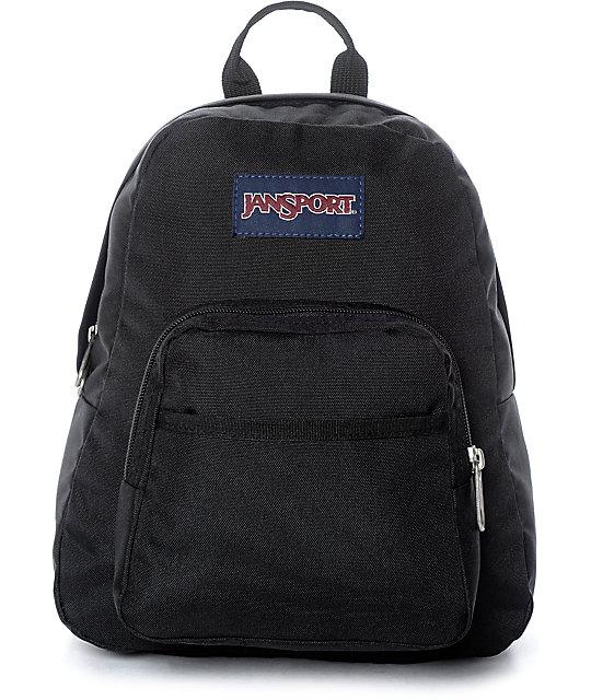 aaa61a101 JanSport Half Pint Black Backpack | Zumiez