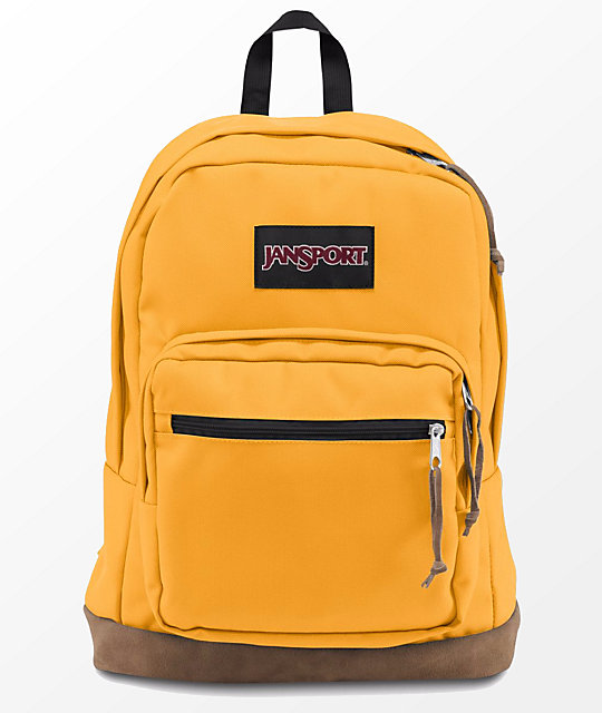 b50ade07ef JanSport Right Pack English Mustard 31L Backpack