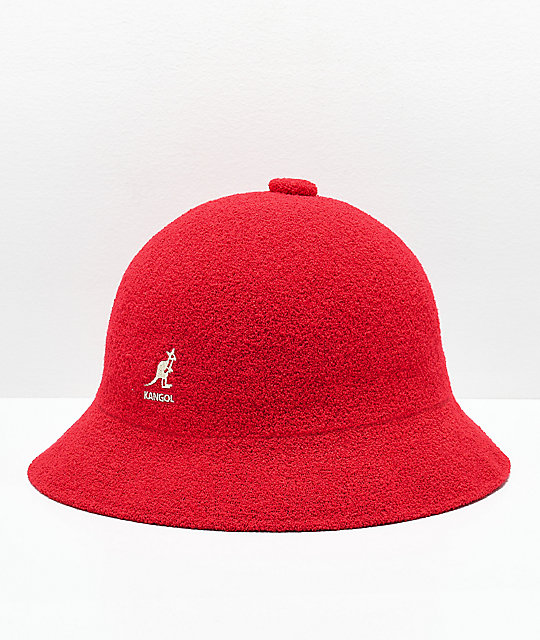 8e97cc8aa12d27 Kangol Bermuda Casual Scarlet Bucket Hat | Zumiez