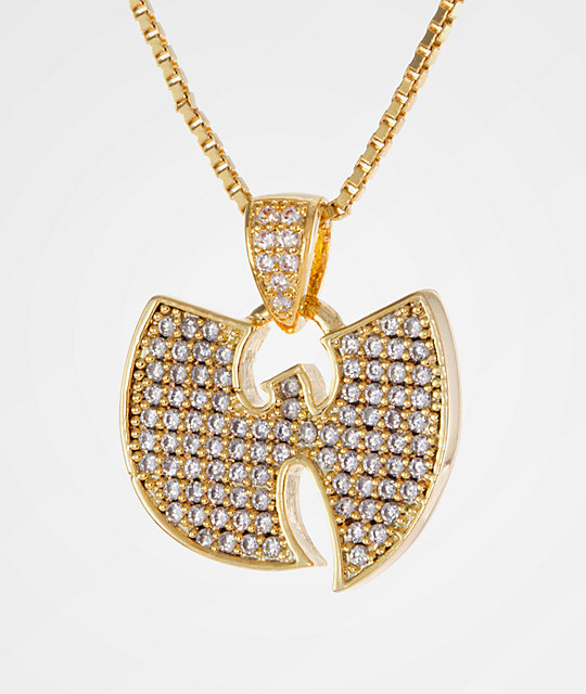King Ice X Wu-Tang Stone Gold Women s Necklace  ff6e7a523