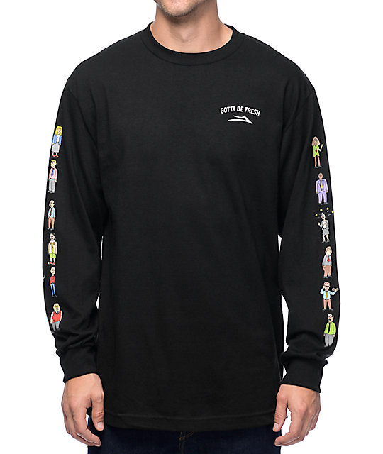 044786bee1c33a Lakai x Workaholics Army Black Long Sleeve T-Shirt