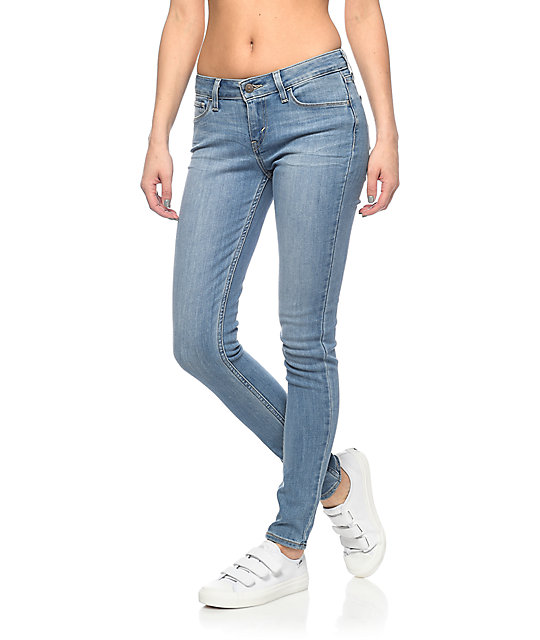 9ecf1ee68b3 Levi's 535 Light Wash Super Skinny Jeans | Zumiez