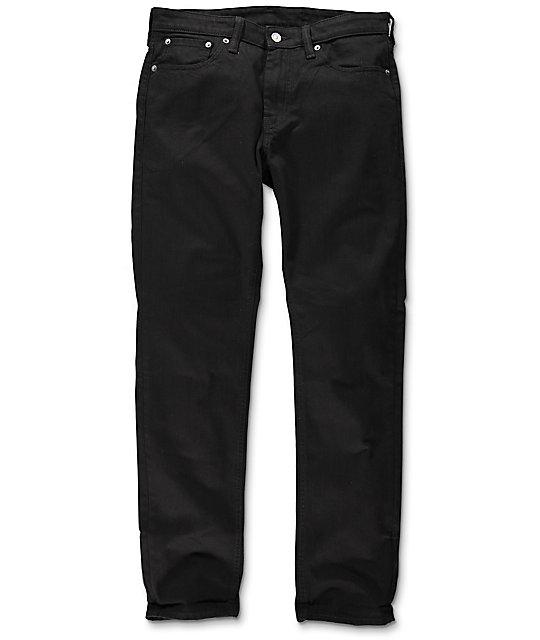 c22e52519bd4 Levi's Commuter 511 Black Slim Fit Jeans | Zumiez
