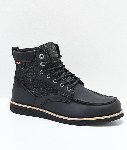 314c188f1c933 Levi's Dawson Black Boots | Zumiez
