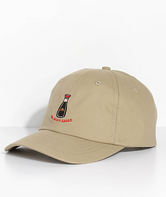 c8af4f4b0f6bf Made In Paradise Too Much Sauce Khaki Dad Hat | Zumiez