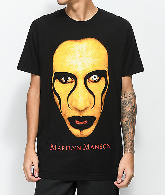 8c165a01f45c Marilyn Manson Sex Is Dead Black T-Shirt | Zumiez