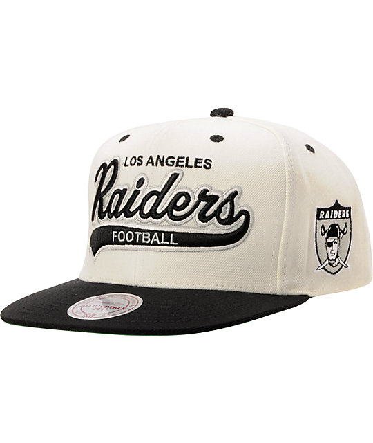 2943760b NFL Mitchell & Ness Oakland Raiders Tailsweeper Snapback Hat | Zumiez