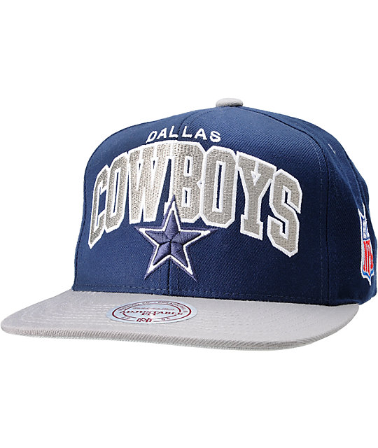 1b30ac7a7ede49 NFL Mitchell and Ness Dallas Cowboys Snapback Hat | Zumiez