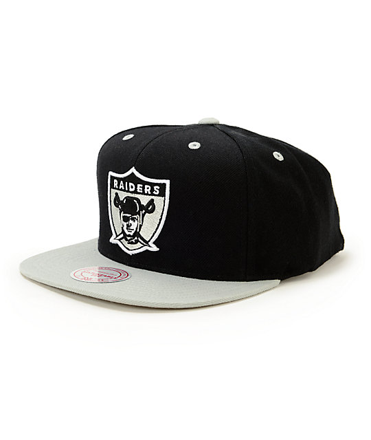 cheap for discount 562de 2d01b NFL Mitchell and Ness Raiders Standard Lock 2 Tone Snapback Hat