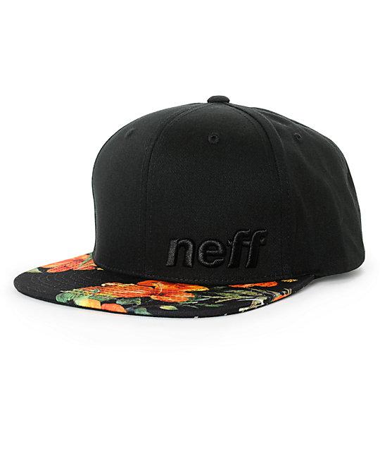03e0e2da687217 Neff Daily Vapay Floral Snapback Hat   Zumiez