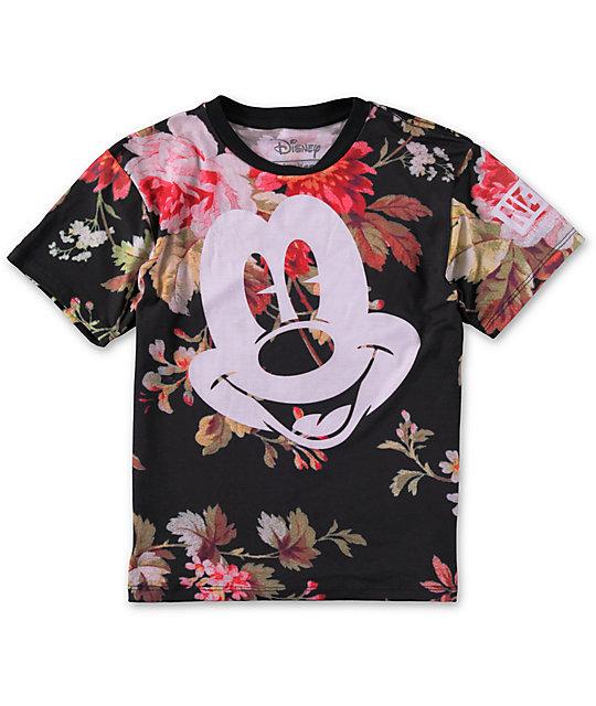 ac18ea8b Neff x Disney Boys Mickey Face T-Shirt | Zumiez