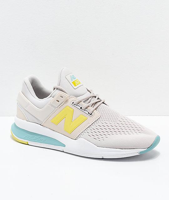 new product 669c7 bd0d3 New Balance Lifestyle 247v2 Tritium Moonbeam & Sage Shoes