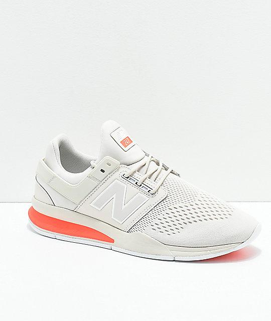 New Balance Lifestyle 247v2 Tritium Moonbeam & Dragonfly Shoes