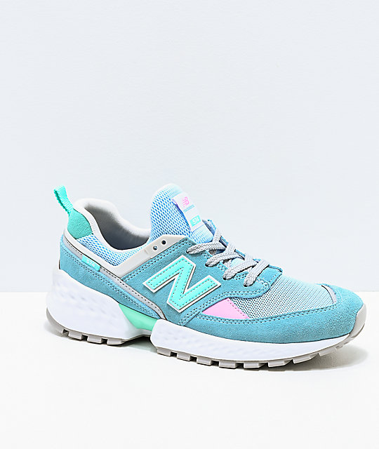 cheap for discount 1b955 6e51e New Balance Lifestyle 574 Sport Blue Fog & Tidepool Shoes