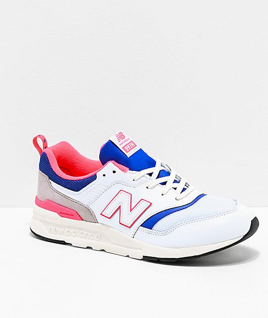 Lazer New Balance BlancosAzul 997h Zapatos Rosa Lifestyle Y Fl1J3TKuc