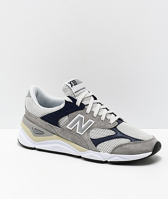 9abaaa517 New Balance Lifestyle X90 Reconstructed Marblehead & Pigment Blue Shoes ...
